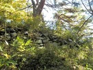 南西尾根 主郭の石積(南側)