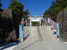 武田神社鳥居(七五三)…