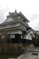 鉄櫓と吉田城最古の石垣…