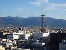 天守台から富士山を望む…