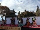 上田城紅葉祭り戦国GIG 凱-KACHI…
