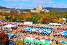 陶器市、皮革フェスティバル、お菓子まつり…