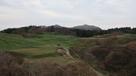 脇本城内館地区と寒風山(最南端から)