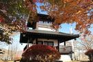 紅葉と展望台