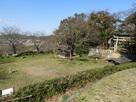 城門付近から副曲輪(二の丸、三の丸跡)…