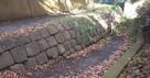 本丸南側の堀跡