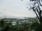 佐敷城址からの眺望…