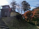 秋の高根城(大手門側)…