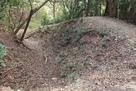 土塁と横堀