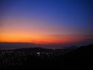 本丸から見る夕景…