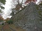 巽櫓東側下の石垣…