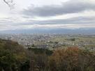 しらとり広場展望台から望む富山市街…