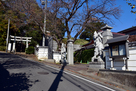 佐江戸杉山神社と無量寺…