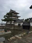 北の丸月見櫓、続櫓、水手御門、渡櫓