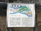 徳島城跡案内板
