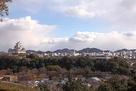 男山配水池公園から観た姫路城…