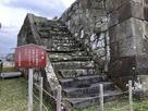 本丸櫓台登り口…