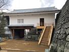 山里口御門櫓門(城内側から撮影)…