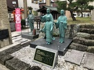 浅井三姉妹像とお市の方像
