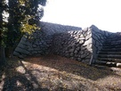 小浜城の天守台…