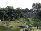 玉泉院側の石垣…