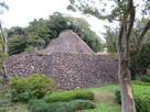 辰巳櫓の高石垣…
