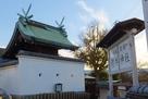 旧三の丸跡に建つ櫻井神社