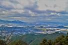 国見櫓より奈良・大阪方面を望む