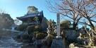 石碑と大乗寺