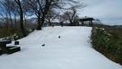 積雪の本丸跡(2018冬)…