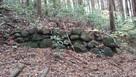 伊賀峰城 石積み…