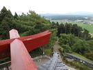 天守閣最上階からの秋田平野の眺望…