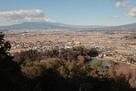 天ヶ岳砦からの眺望…