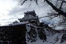 雪の城は、とっても綺麗だねぇ~…