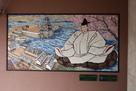 長浜駅の壁画