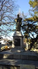 工楽松右衛門の像…