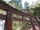 神廟入口の鳥居