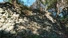 富士見台跡の石垣…