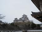 菱ノ門から眺める天守群…