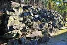 西の丸石垣(北西側)…