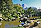 旧徳島城表御殿庭園(北西側)…