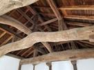 坤櫓3階天井の梁…