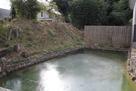 神炊館神社の外濠跡…
