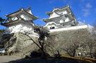 伊賀上野城の復興木造天守閣…