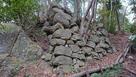 最大の石垣群