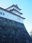 西の丸三重櫓(出廓から)…