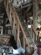 坤櫓内の階段