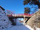 冬の渡雲橋
