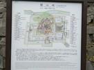 17世紀後半の福山城地図…