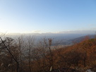 主郭から北アルプス眺望…